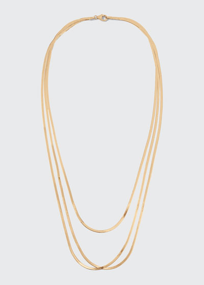 Liquid Gold Thin Layering Necklace