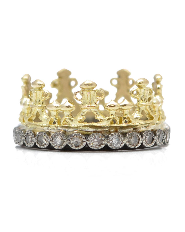 Armenta NEW CROWN DIAMOND RING