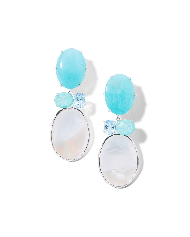 Ippolita Earrings ROCK CANDY LUCE 4-STONE EARRINGS IN CASCATA