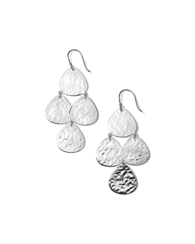 Ippolita Earrings CLASSICO CRINKLE SMALL NOMAD CASCADE EARRINGS