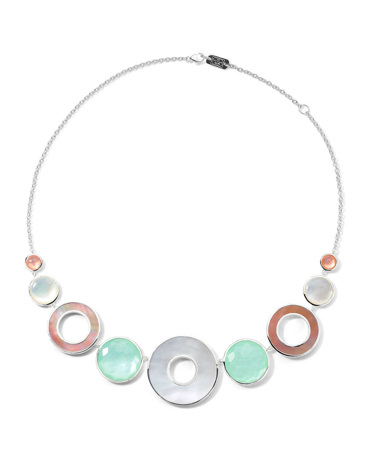 Ippolita WONDERLAND 9-STONE COLLAR NECKLACE IN SAGUARO