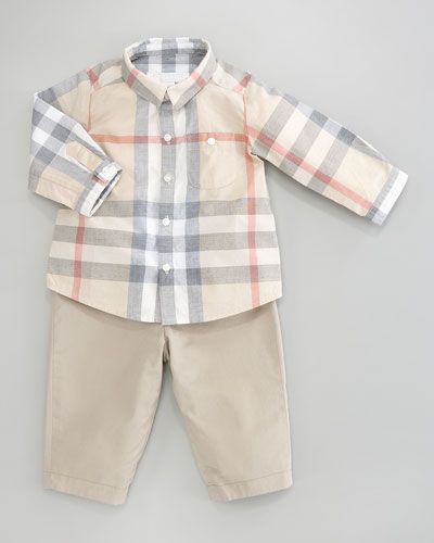 Darcy Reversible Trousers, 3-18 Months