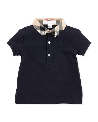 Mini Pique Polo Shirt