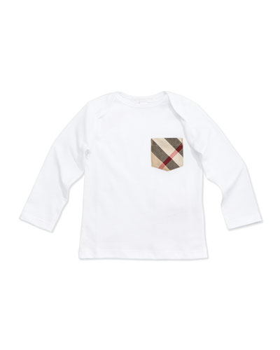Callum Long-Sleeve Jersey Tee, Size 3M-3Y