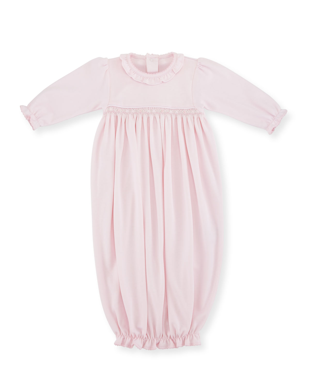 Fall Vines Pima Sleep Sack, Pink, Size Newborn-Small
