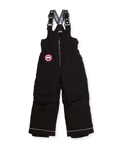 Thunder Waterproof Winter Pants, Black, Size 2-7