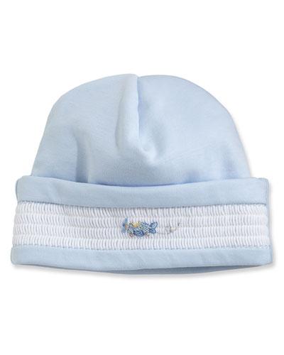Fly Away Pima Baby Hat, Blue