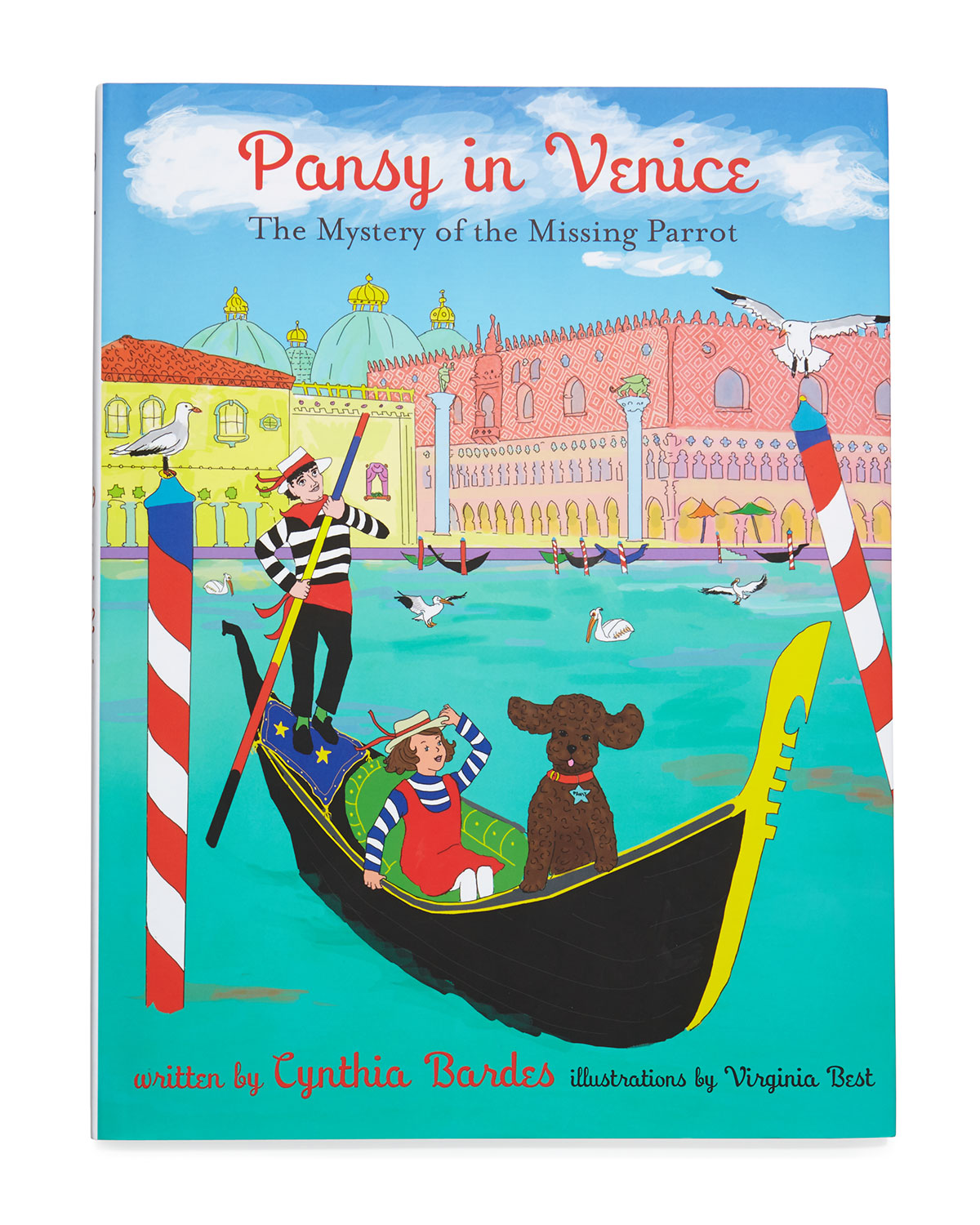 Pansy in Venice Book