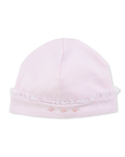 Heart to Heart Baby Hat, Pink