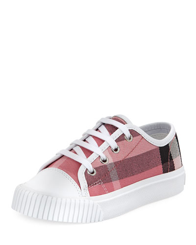 Check Low-Top Sneaker, Youth