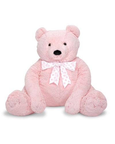 Jumbo Teddy Bear, Light Pink