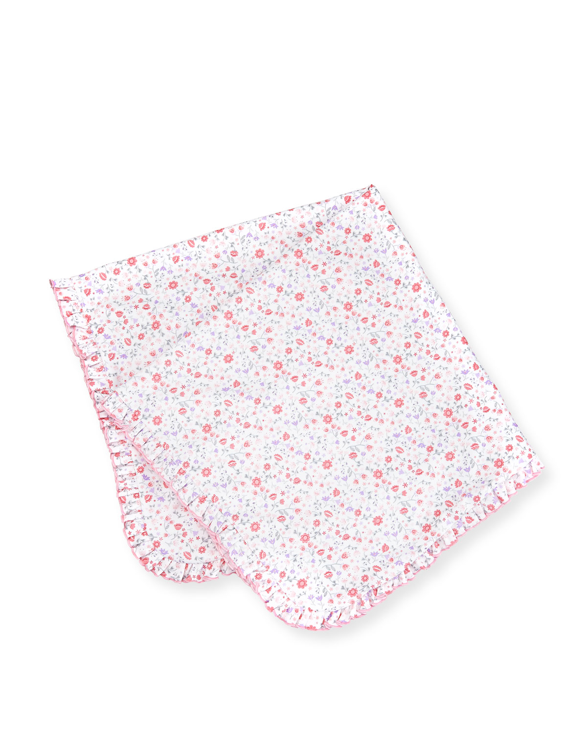 Fall Blossoms Pima Blanket, Pink