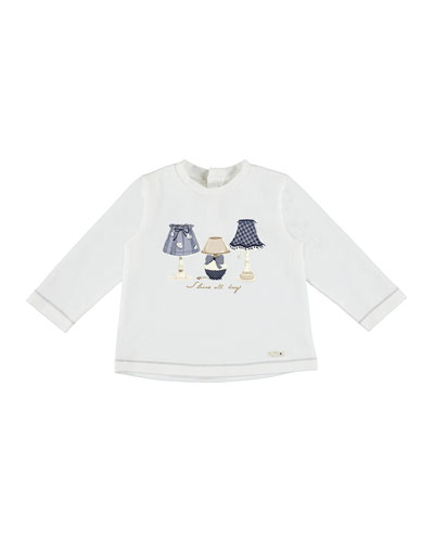 Shine All Day Long-Sleeve Tee, Size 6-36 Months