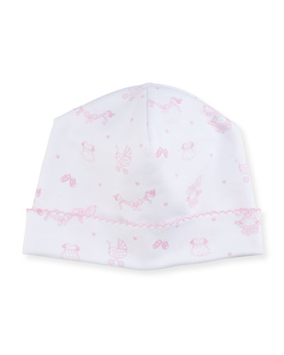 Rockabye Buggy Printed Pima Baby Hat