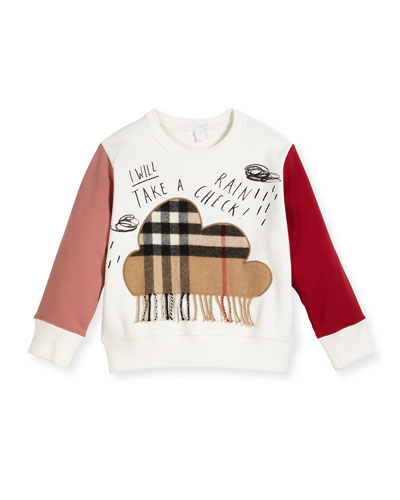 Rain Check Colorblock Sweatshirt, Size 4-14