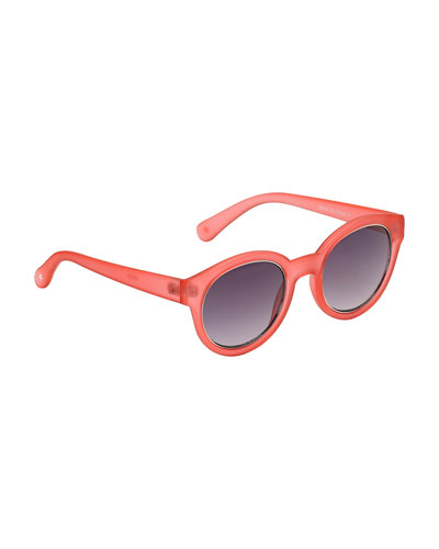 Kids' Sunnie Round Translucent Sunglasses