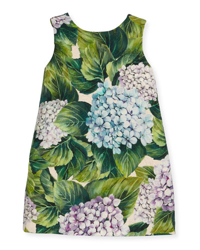 Taormina Sleeveless Dress, Hydrangea, Size 2-6