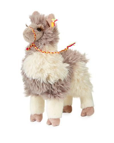 Douglas Zephyr Plush Standing Llama
