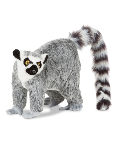 Standing Stuffed Plush Lifelike Lemur