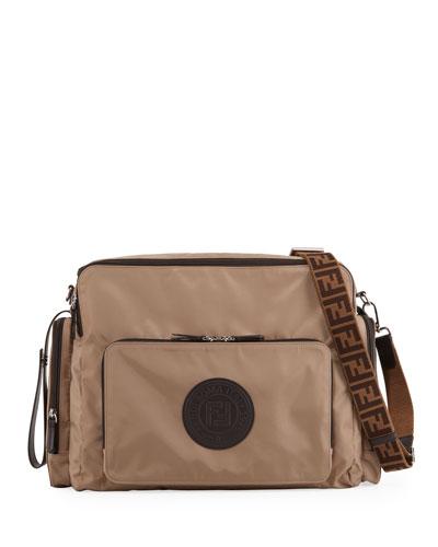 FF Logo Patch Diaper Bag
