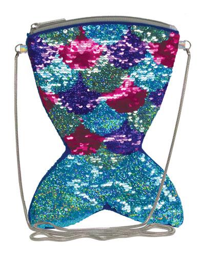 Kids' Mermaid Flip Sequin Crossbody Bag