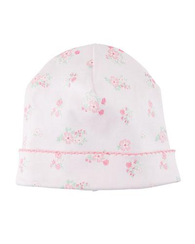 Summer Cheer Printed Pima Baby Hat