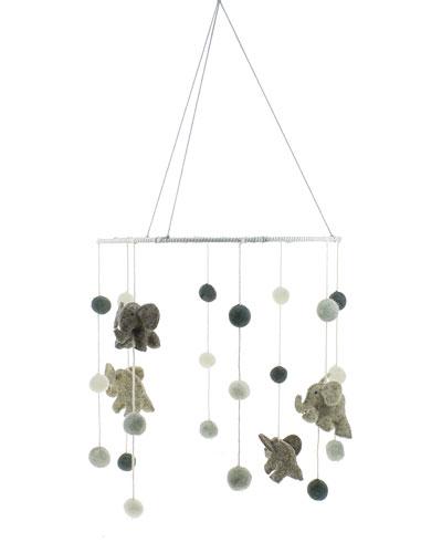 Fiona Walker Designs Elephant Mobile