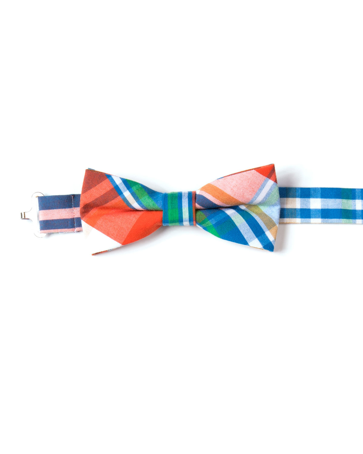 Appaman Ties BOYS' TWILL PLAID BOW TIE
