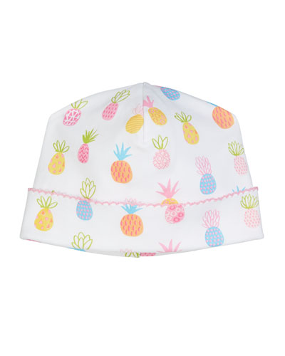 Pineapples Pima Baby Hat