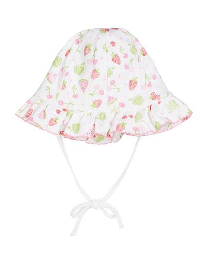 Tutti Frutti Floppy Baby Hat