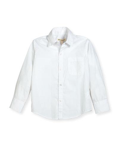 The Standard Poplin Shirt, Size 2T-14