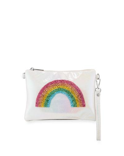 Girls' Rainbow Wristlet Crossbody Bag
