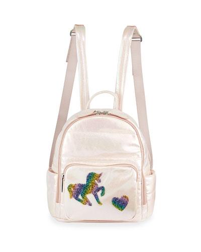 Girls' Galaxy Puff Mini Backpack