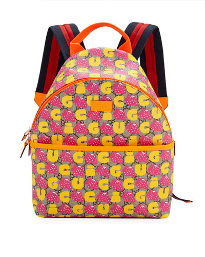 Kids' Strawberry Logo GG Supreme Backpack