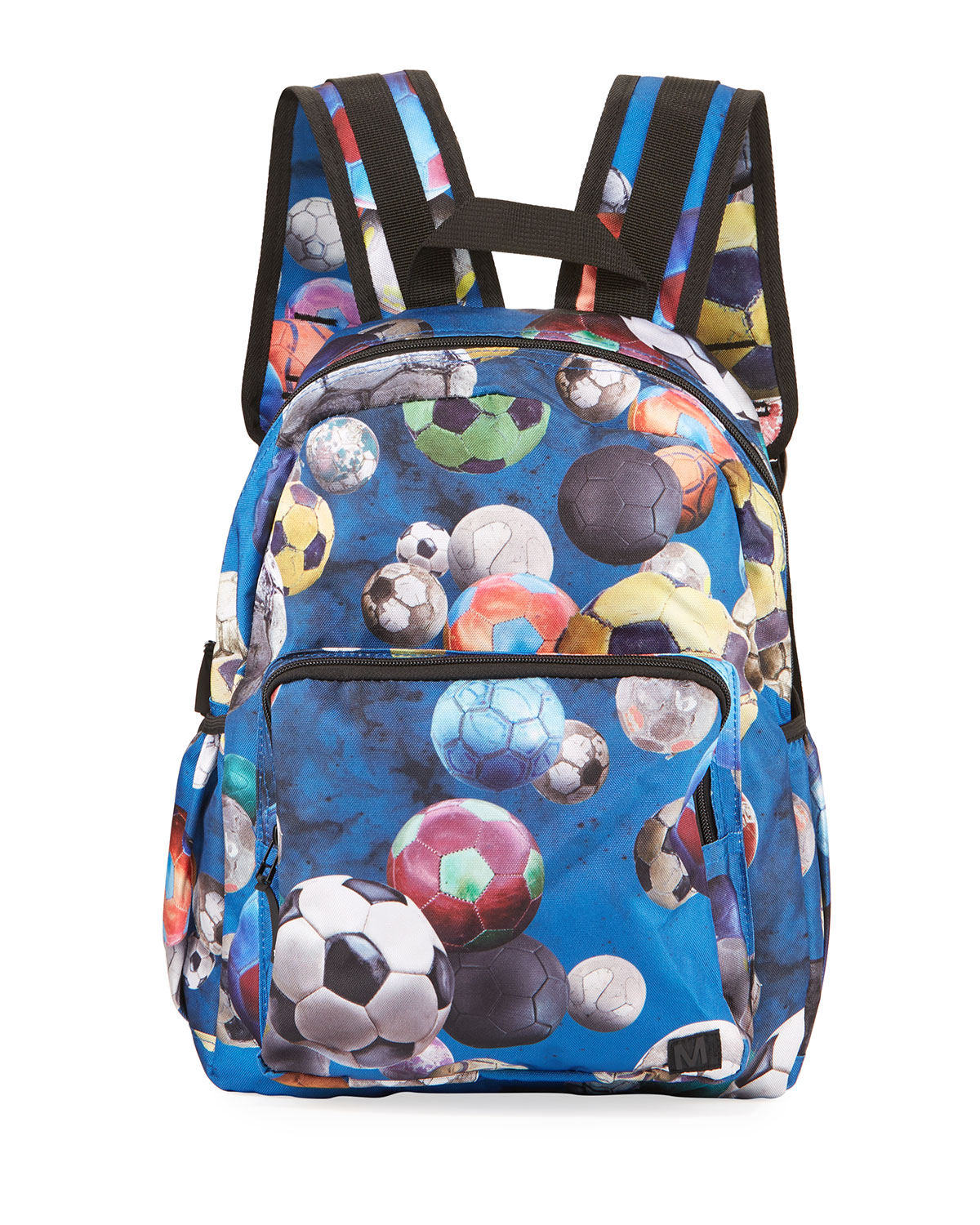 Molo KID'S SOCCER BALL PRINT BACKPACK