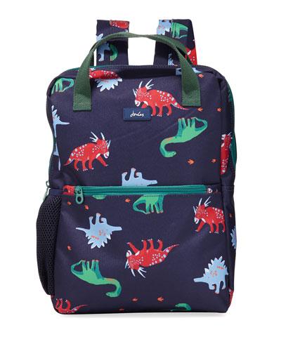 Kid's Dinosaur Print Backpack