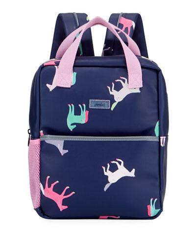 Kid's Horse Print Backpack