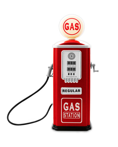 Gas Station Pump for Toy Cars