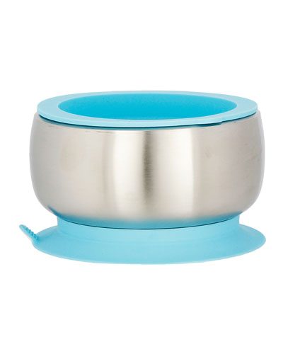 Baby's Stainless Steel & Silicone Bowl