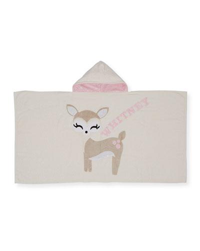 Personalized Dearest Hooded Towel