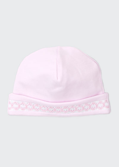 CLB Fall Pink Pima Baby Hat