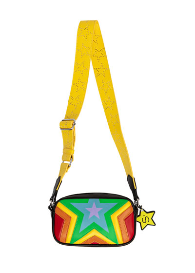 Quilted Stars Crossbody Bag