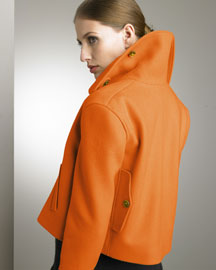 Ralph Lauren Brett Jacket & Turtleneck Dress -  Ralph Lauren -  Bergdorf Goodman :  wool jacket ralph lauren fashion