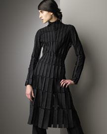 Akris            Tulle Coat Dress-  Dresses-Bergdorf Goodman