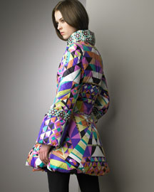 Emilio Pucci            Cristallo Puffer -   		Ready-To-Wear - 	Bergdorf Goodman