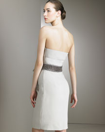 Valentino Strapless Beaded Dress -  Ready-To-Wear -  Bergdorf Goodman from bergdorfgoodman.com
