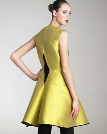 Yves Saint Laurent Colorblock Dress -  Yves Saint Laurent -  Bergdorf Goodman