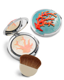 Chantecaille Limited-Edition Jay Strongwater Coral Compact -  Bergdorf Goodman from bergdorfgoodman.com
