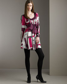 Catherine Malandrino Infinity Print Dress- Catherine Malandrino- Bergdorf Goodman