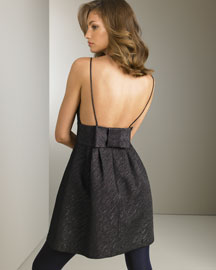 Milly            Metallic Bow Dress